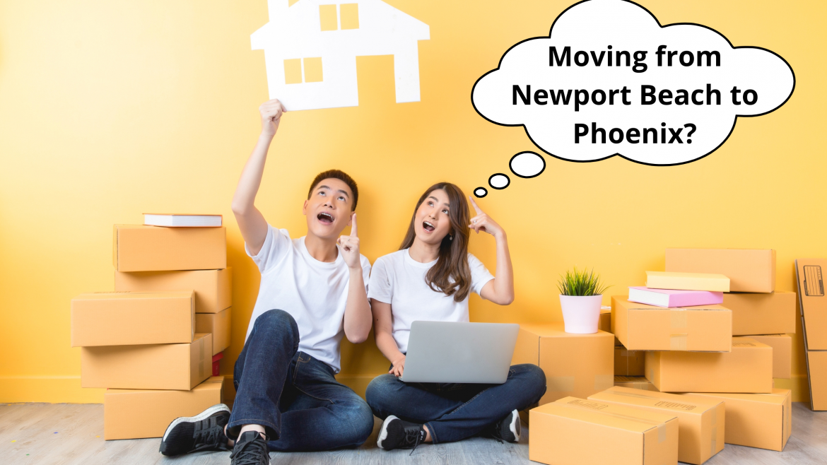 Newport Beach to Phoenix Long Distance Moving